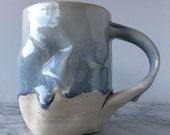Face Mug Sculpture Cup Blissware Open Mind Pottery Portrait Head Vessel Bust