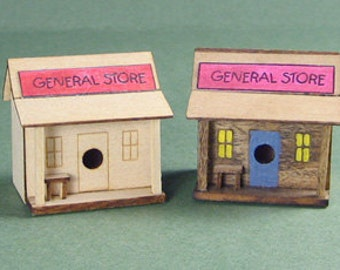 General Store Birdhouse Kit 1:12 Scale