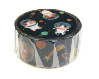 Outer space washi tape 20mm x 10M washi masking tape