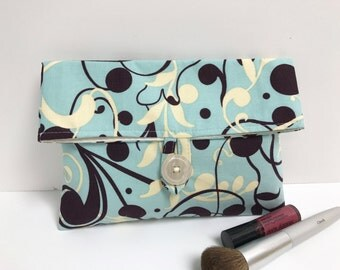 READY TO SHIP - Vinework Print Cosmetic Bag