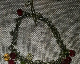 Holiday Crystal Cluster Festive Mix Bling Mix Bracelet