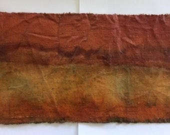 Golden Glow, Painted using Natural Dyes on Cloth