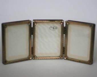 vintage picture frame triple frame