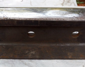 Vintage Heavy Duty Anvil Alternative Rail Road Track For Repurpose, Shop, Hobbie Or Garage Use (30 % DISCOUNT APPLIED)