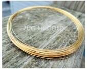 NuGold Brass Wire 20g Round Dead Soft 5-100ft