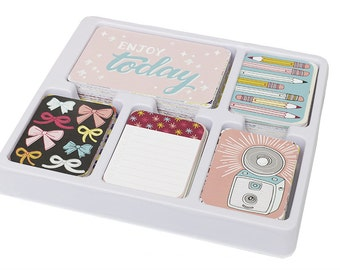 Becky Higgins Project Life 1/4  Partial Core Kit - KNICK KNACK edition - 154 cards - New release
