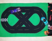 Travel Track (fits 4 Hot Wheel sized cars)