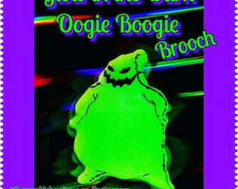 Glow in the Dark Oogie Boogie brooch