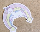 Unicorn Vinyl Sticker
