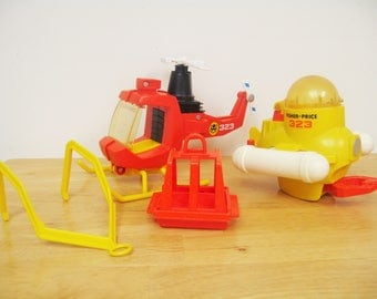 Fisher Price Adventure People Aero-Marine Search Team
