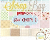 Sew Cherry 2 - Scrap Bag Quilt Fabric Strips by Lori Holt for Riley Blake Fabrics