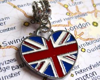 British Union Jack Flag Pendant