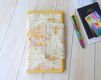 World Map Travel Wallet Passport Holder, passport holder card wallet, passport case document organizer, passport cover for 2, couple wallets