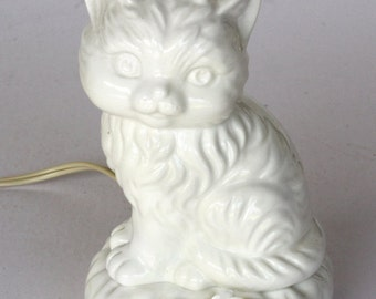 Vintage Aladdin Giftware Cat Night Light
