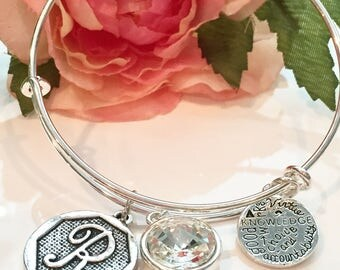 LDS Young Women's Value Bracelet LDS bangle breaclet Personalized Young Women LDS Gift. Young Women Values Jewelry
