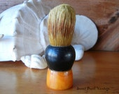 RESERVED FOR JR Vintage Fuller Shaving Brush with Bakelite handle and Badger hair bristles butterscotch bakelite men's