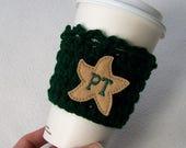 Crochet Coffee Cozy - Special Order for Denellebruce