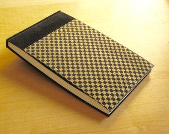 Journal - Black Velvet Checkerboard