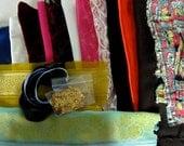 Doll Fabric for Barbie Fashion Dolls, Fabric Scraps, Satin, Sequins, Velvet, Cotton, Lace, Ribbons, Trim