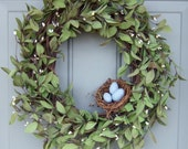 Spring Wreath - Summer Wreath - Mothers Day Wreath