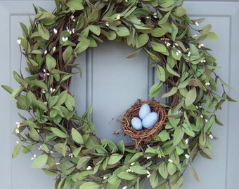 Spring Wreath - Summer Wreath - Mothers Day Wreath