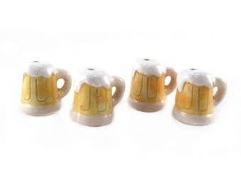 Peruvian Ceramic Large Beer Mug Bead