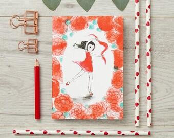 Red Dancer Notebook