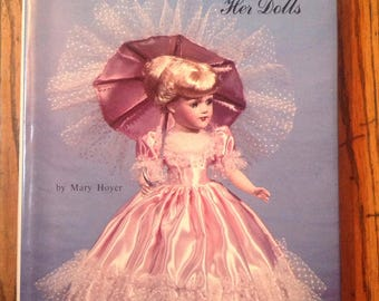 Vintage 1982 Mary Hoyer and Her Dolls Hobby House Book Knitting Crochet Patterns