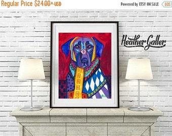 50% Off Today- Anatolian Shepherd Art Dog  Art Print Poster by Heather Galler (HG129)