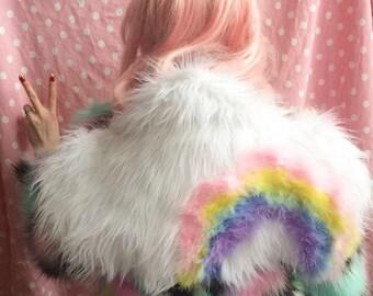 Large Rainbow Cloud Backpack