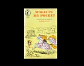 1973 Puffin Paperback. Magic in My Pocket. A Selection of Tales by Alison Uttley. Book. Books. Children's. Child's. Yellow. 1970s.