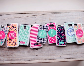 SALE Galaxy S6 Cell Phone Case Personalized Monogrammed