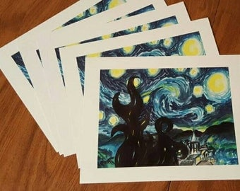 My Starry Night Study - PRINT