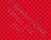 Red and White Pin Polka D...