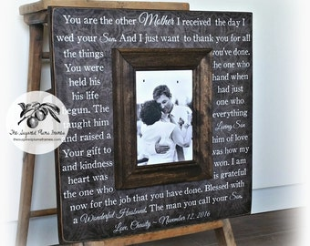 Mother of the Groom Gift, Mother of the Groom Picture Frame, 16x16 The Sugared Plums Frames