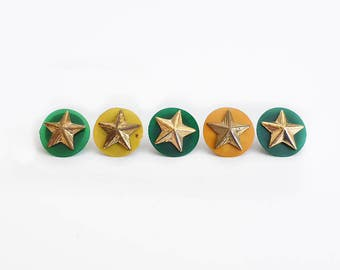 1950s Scout Year Pins, Service Stars, Pinback