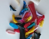 Lot of 40 Mixed Barbie Boots And Shoes