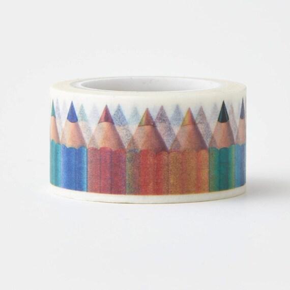 Basket Making Supplies New York : Color pencil washi tape craft supplies scrapbooking
