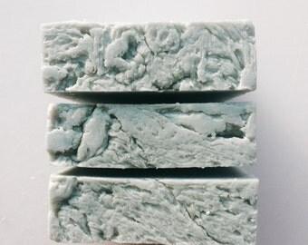 SURF- Dead Sea Salt Soap --Organic Ingredients -- NEW By Dirt Tribe