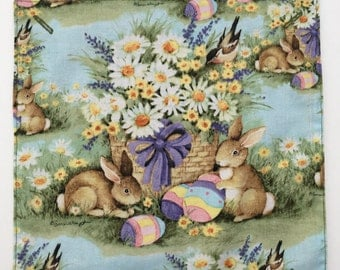 Accent Panels for Pillows and Placemats for Easter