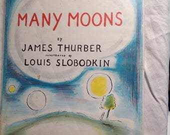 James Thurber:Many Moons illusrations by Louis Slobodkin
