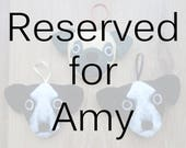 Felt Dogs - Reserved for Amy
