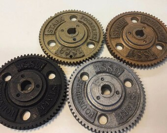 Bulk discount set of 8 Stark Foundaries 1889 Steampunk Gears