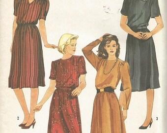 Vintage Simplicity 6619 Misses Dress Pattern SZ 6-10  CLEARANCE ITEM