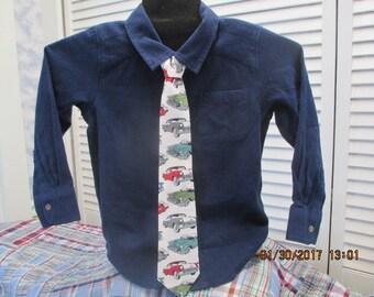 Vintage Ford Car Boys Necktie