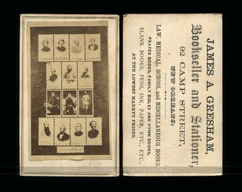 "Rare Civil War CDV ""The Confederate Dead"""