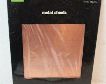 copper sheet craft paper scrap book supply