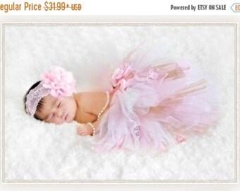 ON SALE Vintage Tutu-Baby tutu- Infant Tutu- Baby- Tutu- Newborn Tutu- Tutus- Available is size 0-24 months