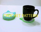 Cat Coaster Crochet Pattern, Cat Mug Rug Crochet Pattern, PDF Instant Download Crochet Pattern, Cat Head Coaster Pattern, Kitten Head
