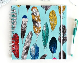 Fabric album, FINE FEATHERS Instagram album, scrapbooking album, brag book
